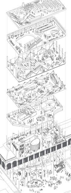 Paris Market Lab | Gorka Beitia Zarandona | Archinect