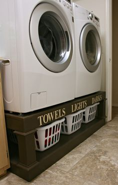 40 Small Laundry Room Ideas and Designs 2018 Laundry room decor Small laundry room organization Laundry closet ideas Laundry room storage Stackable washer dryer laundry room Small laundry room makeover A Budget Sink Load Clothes Laundry Room Organization, Laundry Storage, Laundry Room Design, Laundry In Bathroom, Diy Storage, Laundry Rooms, Storage Ideas, Organization Ideas, Extra Storage