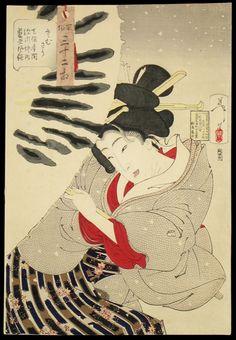 japanese etchings | Japanese Prints - Tsukioka Yoshitoshi