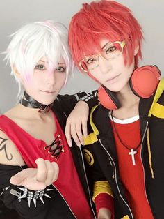 707 and Unknown | Beautiful cosplay!