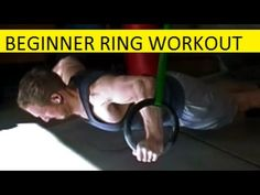 A beginner's workout on the gymnastics rings. 12 exercisies for a complete upper body workout. ( For an intermediate workout click here https://www.youtube.c...