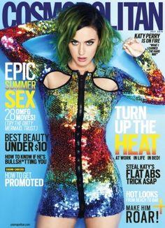 Cosmopolitan July 2014  Katy Perry