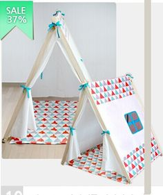 2015 Barraca Infantil Piscina De Bolinha Tent Children Cotton Canvas Sale Fabric Dollhouse Korean Original Single House Play