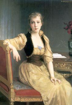 William adolphe bouguereau, lady maxwell