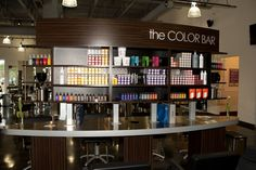 Stunning color bar from Paul Mitchell The School... I'll have one in my salon