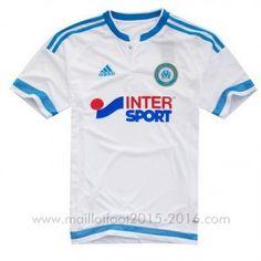 1ème maillot de foot Marseille 2015-2016