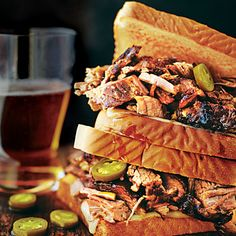 Cowboy Brisket Sandwich | Start this recipe with our True Smoked Beef Brisket.