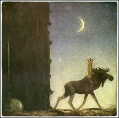 Princess Tuvstar by John Bauer
