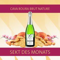 Der Wein des Monats ist diesmal: Ein Sekt! Man muss ja auch mal was anderes machen und da die Ferien immer Gelegenheit bieten die Feste zu feiern, wie sie fallen, ist es immer richtig etwas Prickelndes im Kühlschrank zu haben! Wir präsentieren: Cava Roura Brut Nature! Spanischer Ausnahme-Cava als verschwenderische Erfrischung! Na dann, Prost!