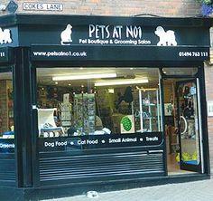 -Repinned- Pet grooming salon exterior.
