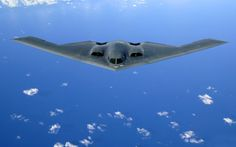 The US Air Force's B-2 bomber is so stealthy, its 52 meter wingspan body shows up as the size of a bird on radar..17