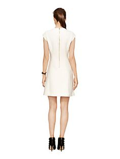 stretch crepe bow dress by kate spade new york