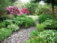 jardines rusticos con piedras buscar con google