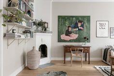 A Charming Scandinavian Apartment