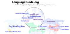LanguageGuide.org - A free collaborative project to develop interactive, sound-integrated language learning resources. Includes flash cards for many words in English, Spanish, Dutch, German, Korean, Turkish, Japanese, Mandarin, Arabic, Russian, Italian, and Portuguese.