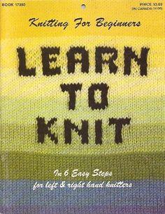 BUCKET LIST: Learn to knit