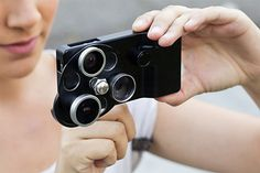 El IPhone ya tiene una cámara decente de fotografía, con este gadget toma fotos como un pro.