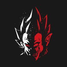 'Vegeta transformation monkey' Tapestry by LuisCaceres Dragon Ball Z Shirt, Dragon Ball Gt, Manga Anime, Anime Art, Fotos Dragon Ball, Bd Comics, Akira, Illustration, Geek