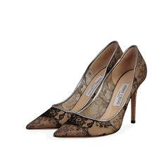 Known for their elegant and high fashion designs, Jimmy Choo never fails. Make a style statement while flaunting this pair that has been for a fashionista like you.  ITEM CONDITION: Pre-owned – Very good condition.  SUPPLIED WITH: These shoes are supplied with a Luxity dust bag.  SIZE: 39 – (UK size 6)  THE LEFT SHOE: Very good condition – With normal signs of wear.  THE RIGHT SHOE: Very good condition – With normal signs of wear. Lace Pumps, Jimmy Choo, Fails, Dust Bag, High Fashion, Shoe, Signs, Elegant, How To Wear