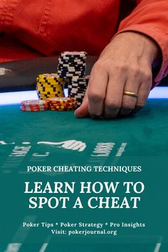 If you play poker, then I'm sure you have no interest in being the victim of a poker cheat. I'm going to write about different poker cheating techniques.