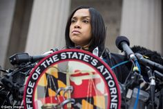 Defense attorneys also said that prosecutors from the office of Baltimore City State's Attorney Marilyn Mosby (pictured in May) steered investigators away from information about Gray