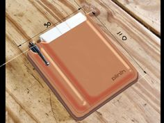 John Bull | Idea for leather slip-case for Plinth Tablet Stand (available now on kickstarter!)