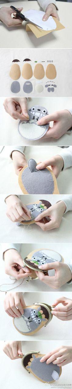 totoro | DIY Cute crafts | Pinterest