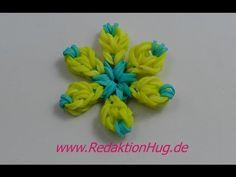 Loom Bands - Blume - Flower - ohne Rainbow Loom