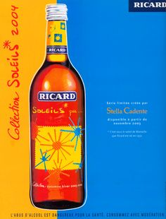 Ricard - Collection Soleils 2004 / 2