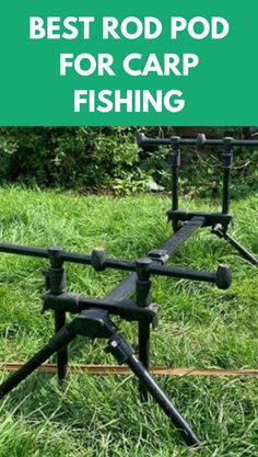 When choosing the very best rod pod, it should be compact, light but stable. #best #rod #pod #carp #fishing