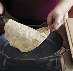 Yufka / Turkish Flatbread Recipe (Fine Cooking) - sturdy enough for schwarma, but still thin.