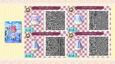 Winter coat - animal crossing new leaf clothe QR code