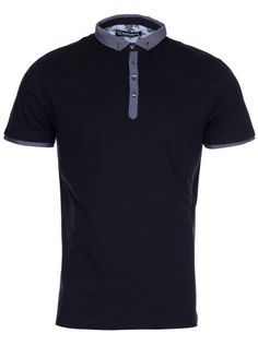056e43bde29d Twisted Soul Mens Navy Smart Short Sleeve Polo Shirt Smart Shorts