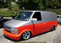 Prostreet Chevy Astro Van by Bob Hase..
