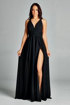 100% Polyester Made in US Semi Formal Attire For Women, Semi Formal Dresses For Wedding, Bridesmaid Dresses, Prom Dresses, Wedding Dresses, Side Slit Dress, Long Sides, Dress Summer, Plus Size Women