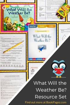 Preschool Science, Teaching Science, Science For Kids, Teaching Tools, Teacher Resources, Preschool Weather, Weather Activities, Vocabulary Activities, Reading Activities