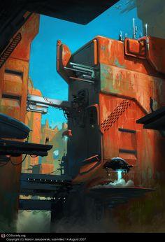 Outpost by Marcin Jakubowski | 2D | CGSociety