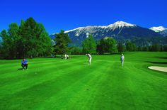 Golf course in Bled is renowned as one of the most beautiful in Europe and the largest golf course in Slovenia