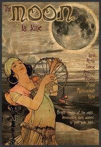 art nouveau moon - Yahoo Image Search Results