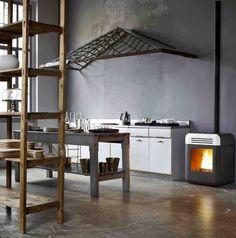 Pellet Stove THEMA by MCZ GROUP | #design Emo Design #kitchen