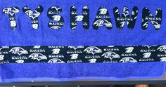 Raven's towel by Ruthiebelle Crafts