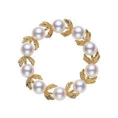 ミキモト、真珠5.75mm, 直径3.3cm