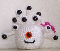 Beholder free crochet Pattern by blogger Epic x Cloth: