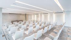 Office Interior Design, Office Interiors, Multipurpose Hall, Open Ceiling, Auditorium, Good Job, Interior Lighting, Decoration, Interior Architecture
