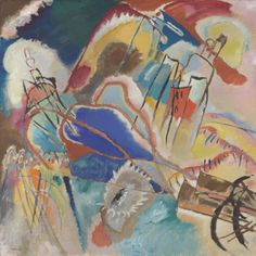Kandinsky / Improvisation No. 30 (Cannons) | The Art Institute of Chicago