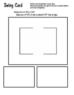 353 best cards layouts and cut diagrams images on pinterest swing cards and venetian blind card m4hsunfo