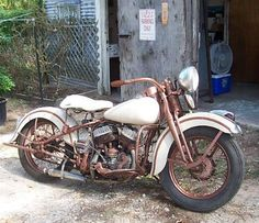 1939 Harley Flathead - repined by http://www.vikingbags.com/ #VikingBags