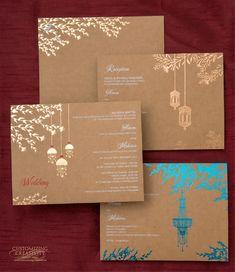 Customized Unique Wedding Invitation Cards