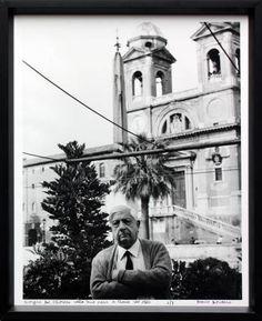 Mario Dondero  Giorgio De Chirico