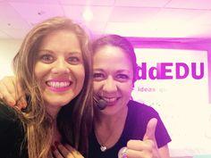 Bellas y talentosas @analaumorales y MariCarmen Obregon efecto Wow en Perú #WeddEdu2015 www.inibep.com